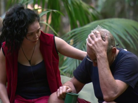 I'm A Celebrity 2016: Larry Lamb's tears at losing Jordan Banjo melts the hearts of fans