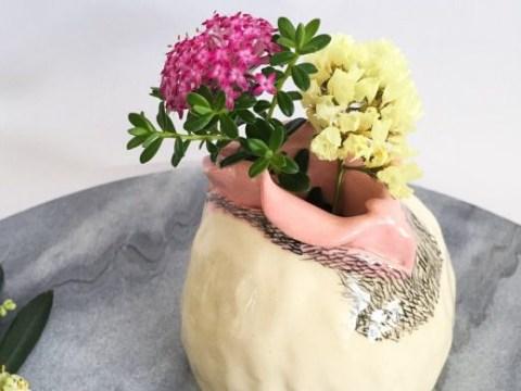 This ceramic artist is making glorious vulva vases