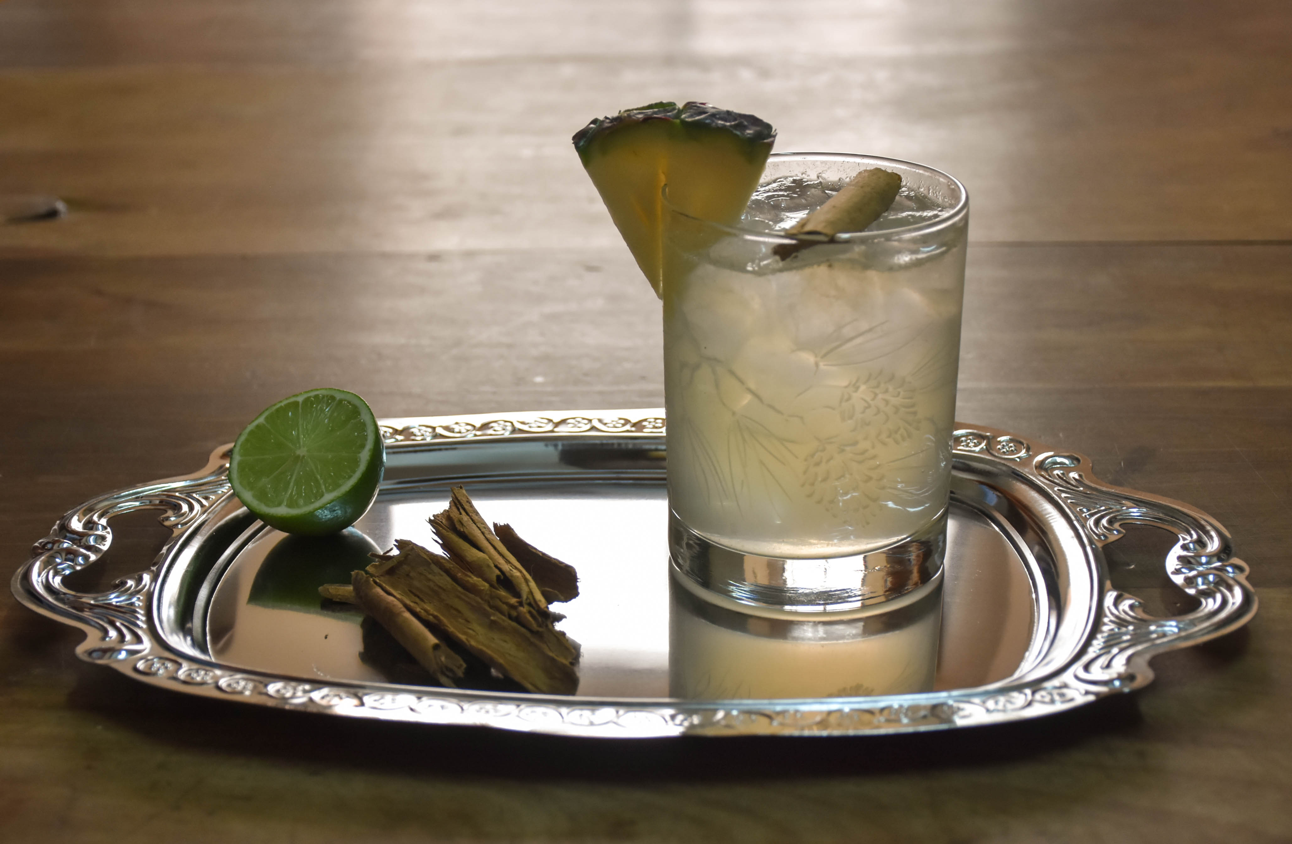 Cocktail recipe video: Winter gin and tonic