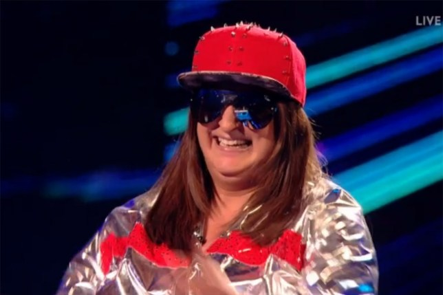 Honey G gave a blistering rendition of Kriss Kross tonight (Picture: ITV)