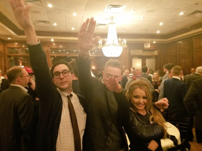 Tila attended an alt-right white nationalist conference (Picture: Tila Tequila/Twitter)
