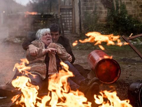 Emmerdale spoilers: Lisa Dingle fears Zak is dead in new fire pictures