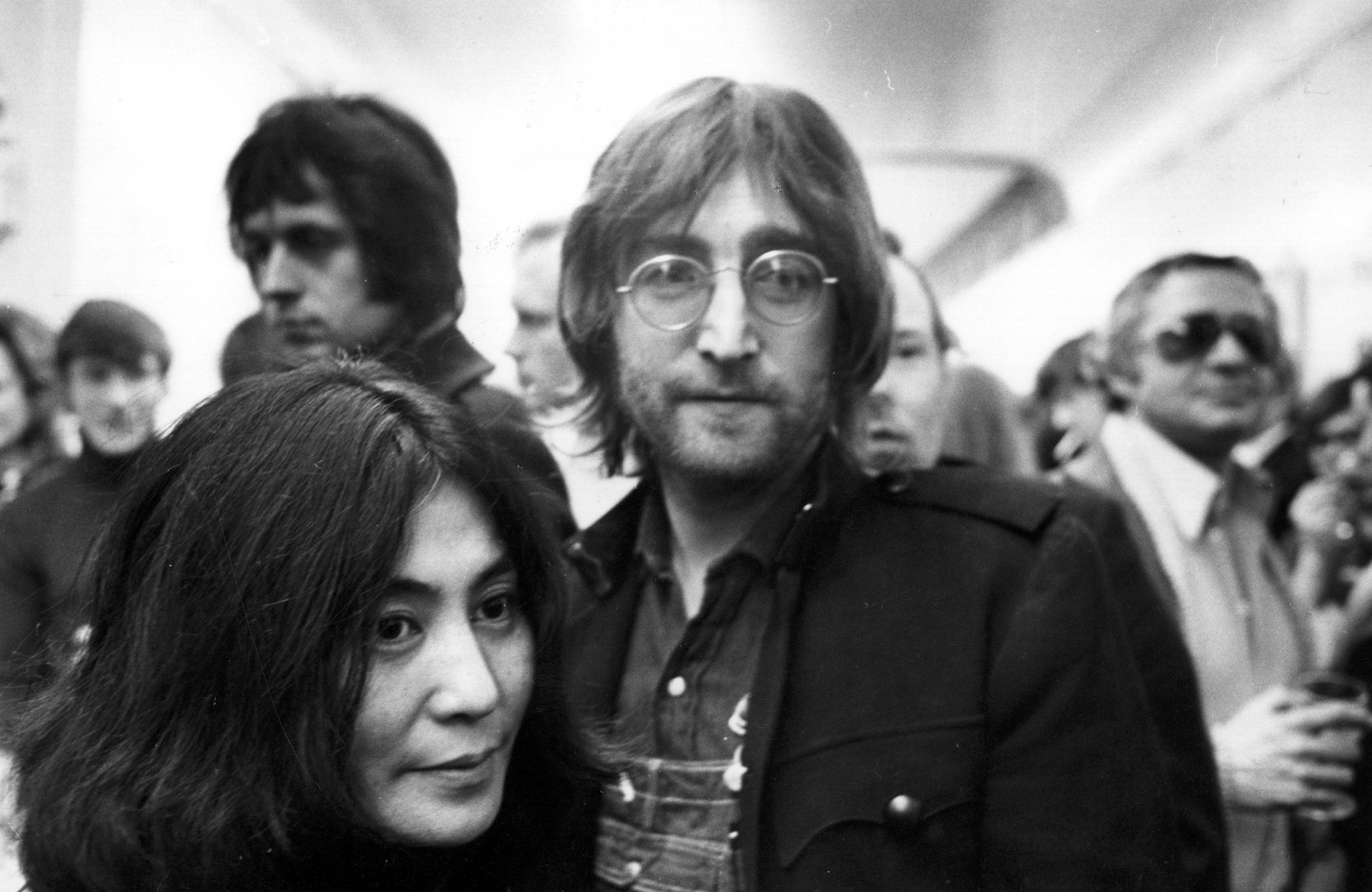 John Lennon wrote Imagine in one sitting as wife Yoko Ono watched on (Picture: Getty Images)