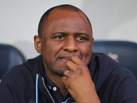 Patrick Vieira reveals 'disappointment' at Arsenal coaching snub
