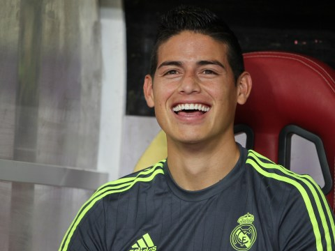 James Rodriguez not leaving Real Madrid in January, says agent Jorge Mendes