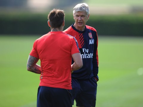 Mathieu Debuchy reveals he is hardly on speaking terms with Arsenal boss Arsene Wenger