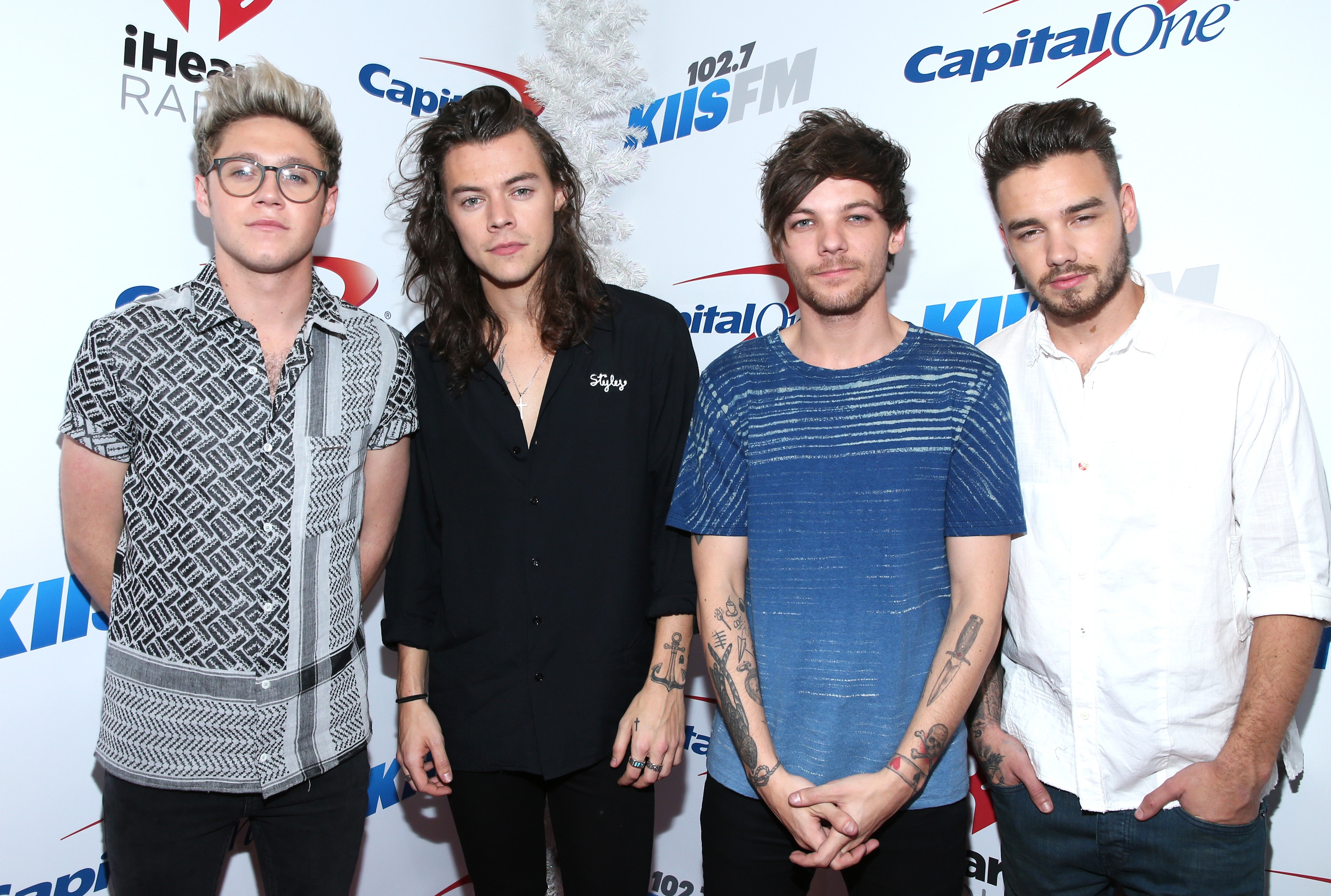 One Direction's (L-R) Niall Horan, Harry Styles, Louis Tomlinson and Liam Payne are the highest paid European celebrities of 2016 (Picture: Getty Images for iHeartMedia)