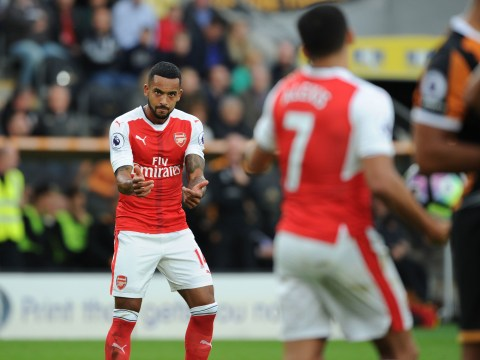 Arsenal star Theo Walcott reveals dressing room argument at Hull City clash