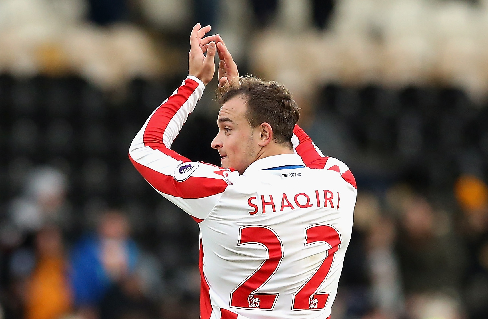 Stoke City ace Shaqiri issues come and get me plea to Liverpool and Champions League clubs