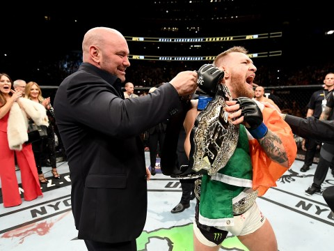 Conor McGregor dismisses Dana White's claim he is taking ten months off from the UFC