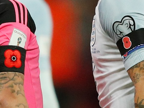 England, Scotland, Wales and Ireland fined by FIFA for poppy displays on Remembrance Day