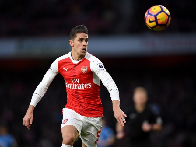 LONDON, ENGLAND - NOVEMBER 27: Gabriel of Arsenal in action during the Premier League match between Arsenal and AFC Bournemouth at Emirates Stadium on November 27, 2016 in London, England. (Photo by Shaun Botterill/Getty Images)