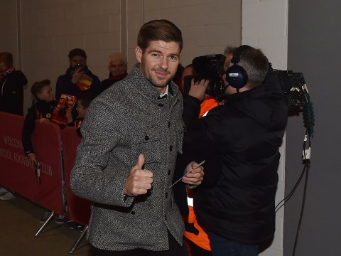 Steven Gerrard aims cheeky job plea at Liverpool after he hands them dream FA Cup tie
