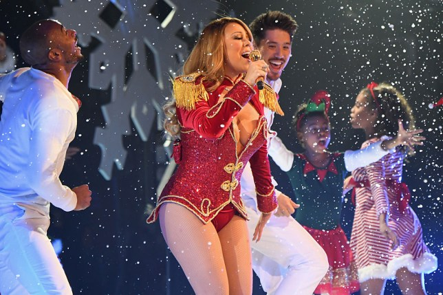 Mariah Carey performs during the opening show of Mariah Carey: All I Want For Christmas Is You at Beacon Theatre on December 5, 2016 in New York City.