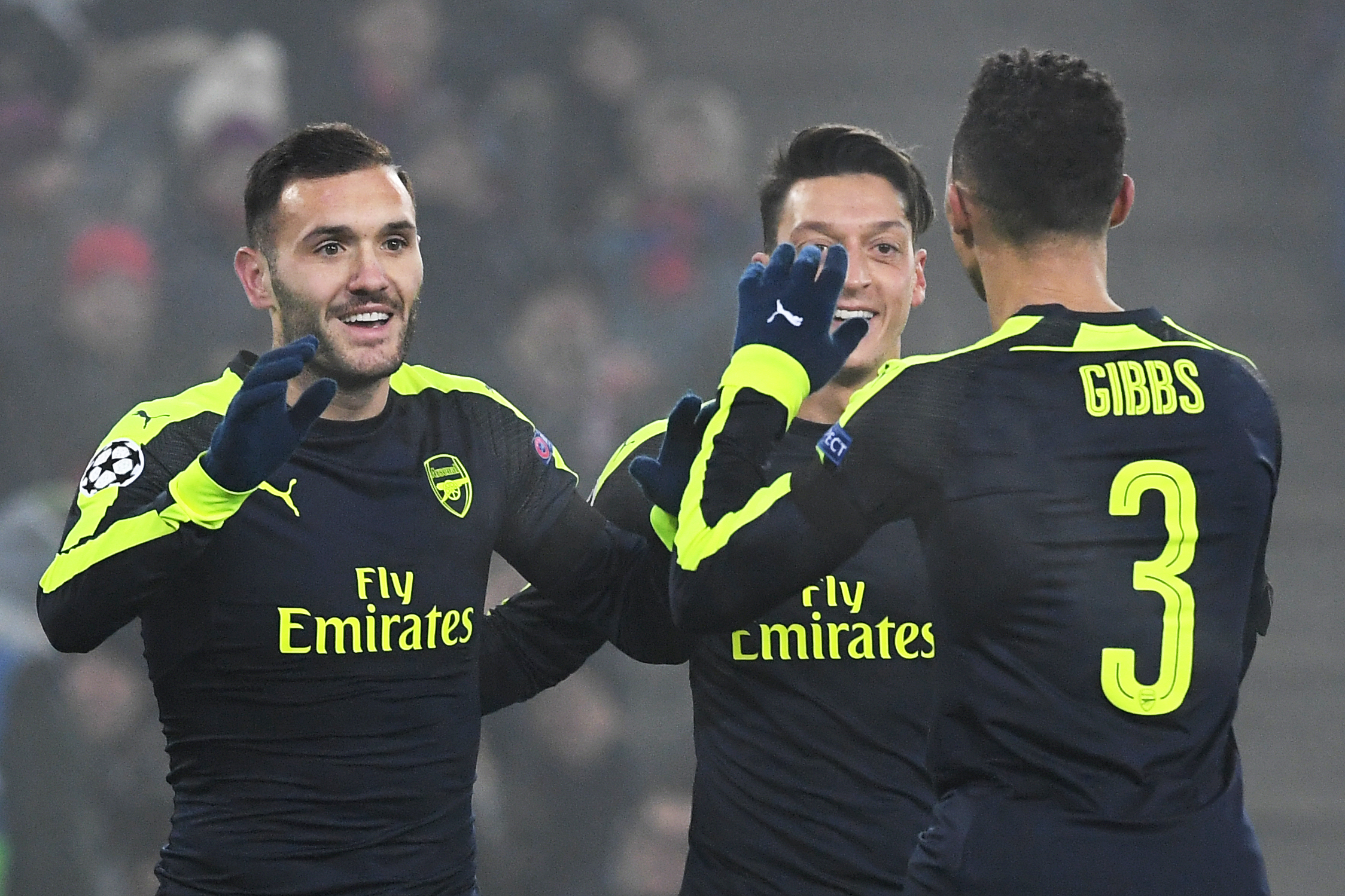 Arsenal fans believe Kieran Gibbs-Lucas Perez is the new Mesut Ozil-Alexis Sanchez