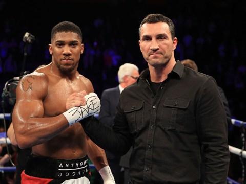 Anthony Joshua vs Wladimir Klitschko: Date, venue, tickets, TV channel – everything we know so far