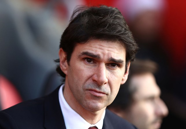 SOUTHAMPTON, ENGLAND - DECEMBER 11: Aitor Karanka, Manager of Middlesbrough looks on during the Premier League match between Southampton and Middlesbrough at St Mary's Stadium on December 11, 2016 in Southampton, England. (Photo by Bryn Lennon/Getty Images)