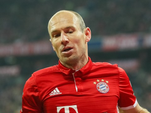 Ex-Chelsea star and Manchester United target Arjen Robben confirms he's not held talks with Bayern Munich