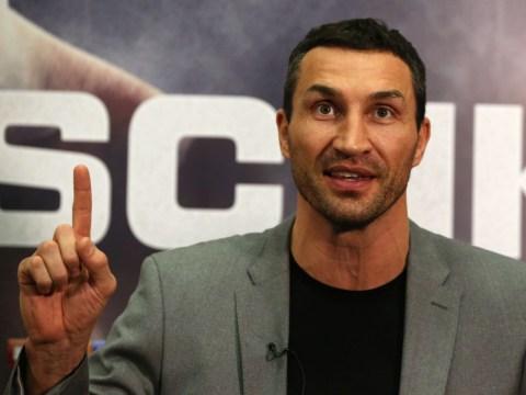 Wladimir Klitschko admits Anthony Joshua fight means everything to him