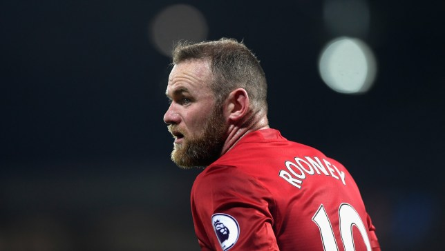 WEST BROMWICH, ENGLAND - DECEMBER 17: Wayne Rooney of Manchester United looks on during the Premier League match between West Bromwich Albion and Manchester United at The Hawthorns on December 17, 2016 in West Bromwich, England. (Photo by Stu Forster/Getty Images)