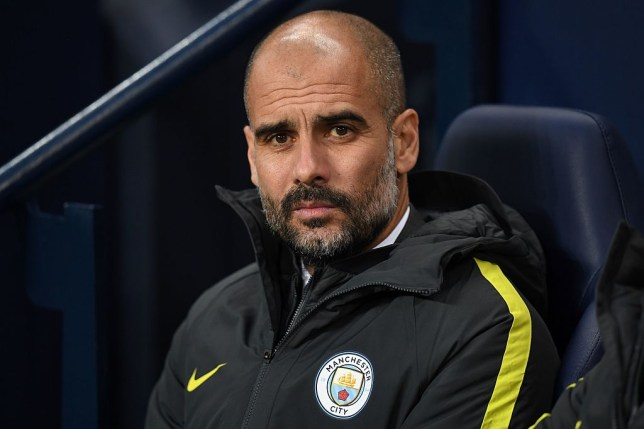 Manchester City's Spanish manager Pep Guardiola looks on ahead of the English Premier League football match between Manchester City and Arsenal at the Etihad Stadium in Manchester, north west England, on December 18, 2016. / AFP / Paul ELLIS / RESTRICTED TO EDITORIAL USE. No use with unauthorized audio, video, data, fixture lists, club/league logos or 'live' services. Online in-match use limited to 75 images, no video emulation. No use in betting, games or single club/league/player publications. / (Photo credit should read PAUL ELLIS/AFP/Getty Images)