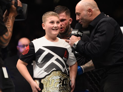 UFC champion Cody Garbrandt shares best moment of his life with cancer survivor Maddux Maple