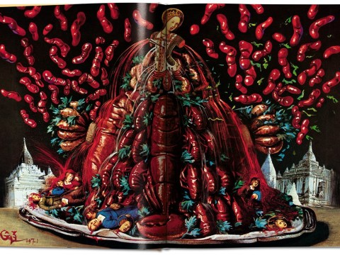 Spice up your Christmas dinner with this Salvador Dalí cookbook