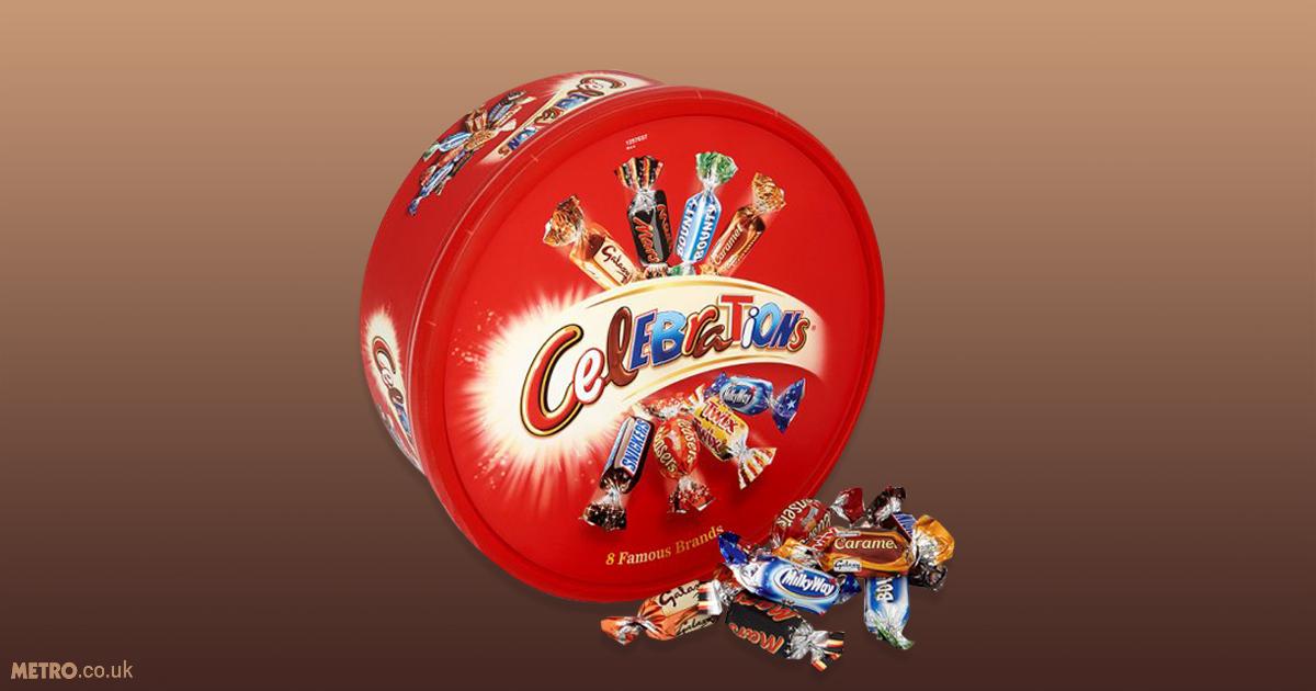Celebrations chocolates, ranked Credit: Tesco