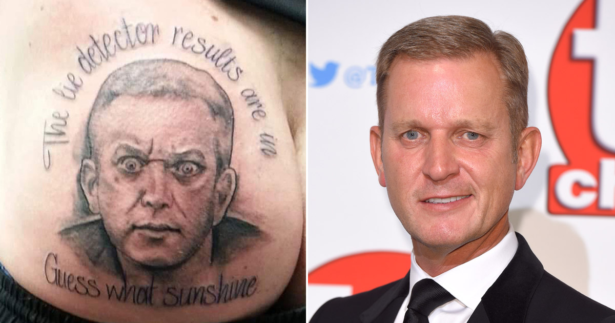 This man now has a tattoo of Jeremy Kyle on his bum because 'banter'