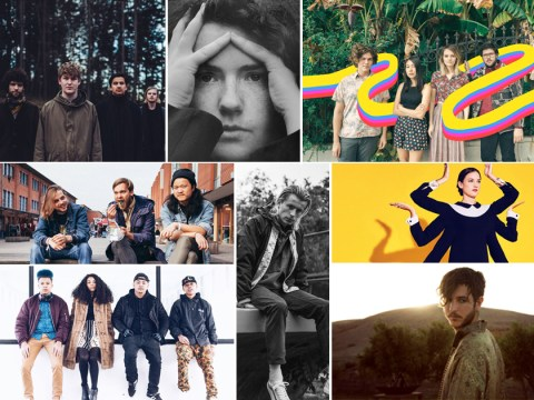 The 2017 music list of the new bands and artists to hear next year
