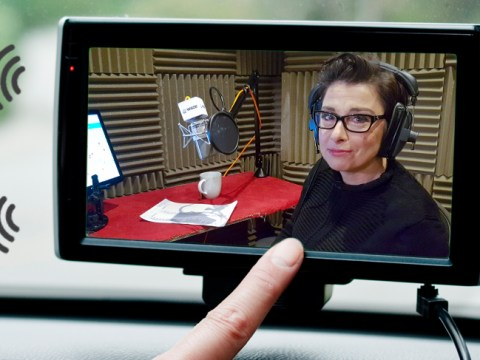 Sue Perkins continues her banter for motorists as the voice of new Satnav app Waze