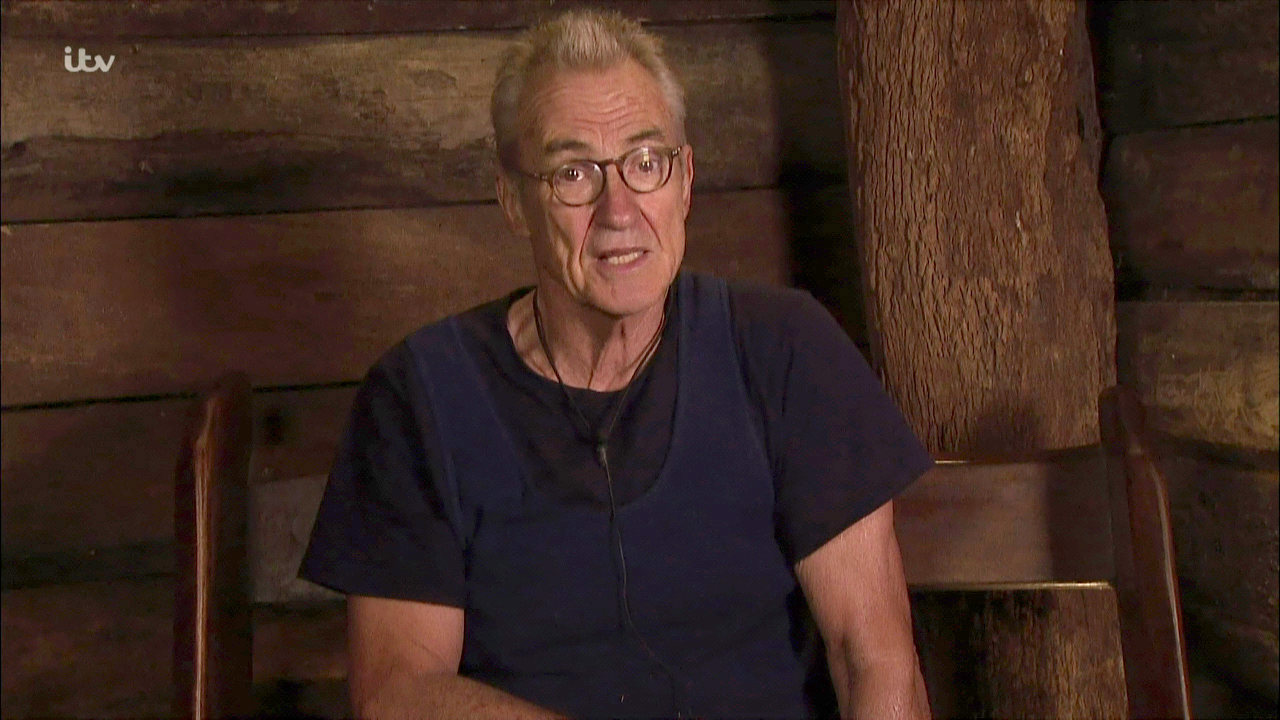 Larry Lamb admits he didn't 'take to' Martin Roberts in I'm A Celeb's Coming Out show
