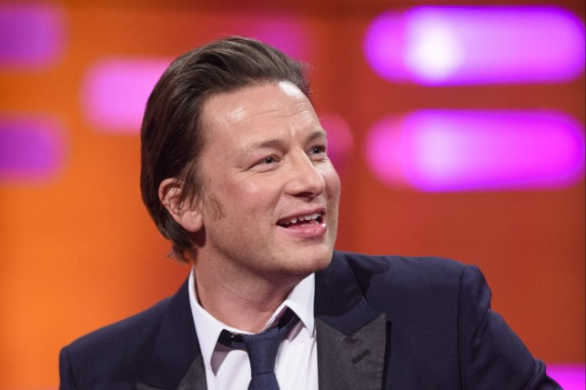 Jamie Oliver, during the filming of the Graham Norton Show at The London Studios, south London, to be aired on BBC One on Friday evening. PRESS ASSOCIATION Photo. Picture date: Thursday December 1, 2016. Photo credit should read: PA Images on behalf of So TV/PA Wire