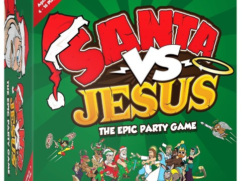 Santa vs Jesus board game isn't going down well with Christians