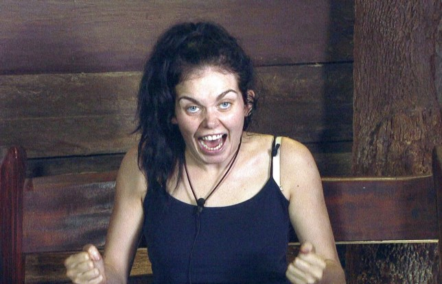 ***EMBARGO, NOT TO BE USED BEFORE 22:35 GMT, SATURDAY 03 Dec 2016 - EDITORIAL USE ONLY - NO MERCHANDISING*** Mandatory Credit: Photo by ITV/REX/Shutterstock (7542216as) Pre-Bushtucker Trial: Cyclone - Scarlett Moffatt 'I'm a Celebrity...Get Me Out of Here!' TV Show, Australia - 03 Dec 2016