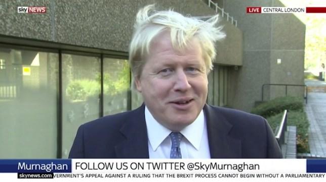 Boris Johnson flees sky interview as he fails to name a key world leader