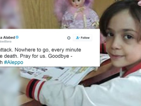 Syrian girl, 7, tweeting about bombing in Aleppo returns to Twitter with harrowing message