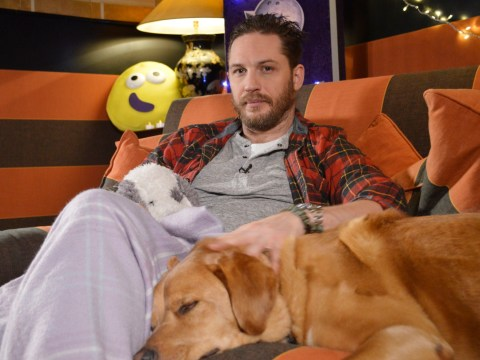 Tom Hardy will spend Valentine's Day reading us another bedtime story on CBeebies