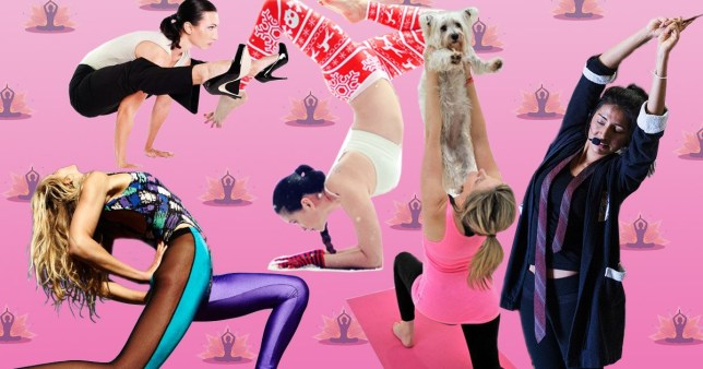 16 of the weirdest yoga classes to come out of 2016