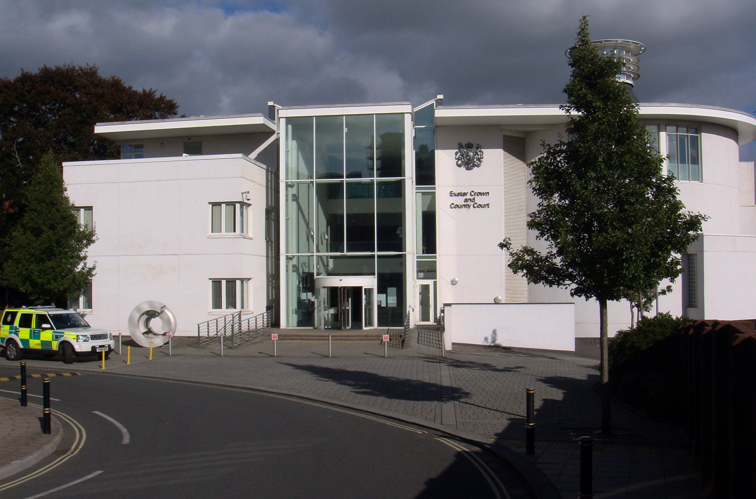 Mandatory Credit: Photo by Barry Gomer/REX/Shutterstock (1886803a)nExeter Crown and County Court, Exeter, England, BritainnExeter Crown and County Court, Exeter, Britain - Sep 2012nn