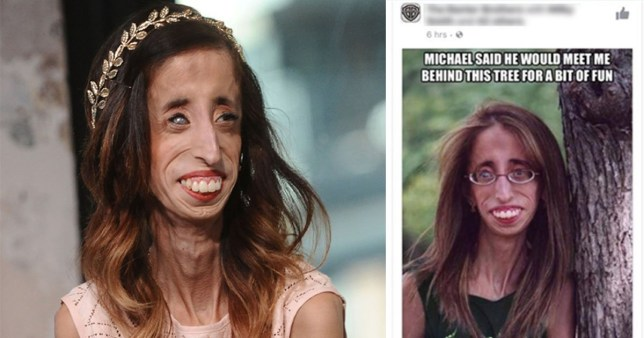 Woman speaks out after finding out her photo has been used for a horrible meme (Facebook/Lizzie Velasquez) https://www.facebook.com/photo.php?fbid=10155293870421754&set=a.10150308145741754.387714.618076753&type=3&theater