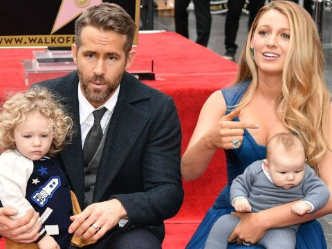 Ryan Reynolds and Blake Lively's daughters make first public appearance at Hollywood Walk Of Fame honours