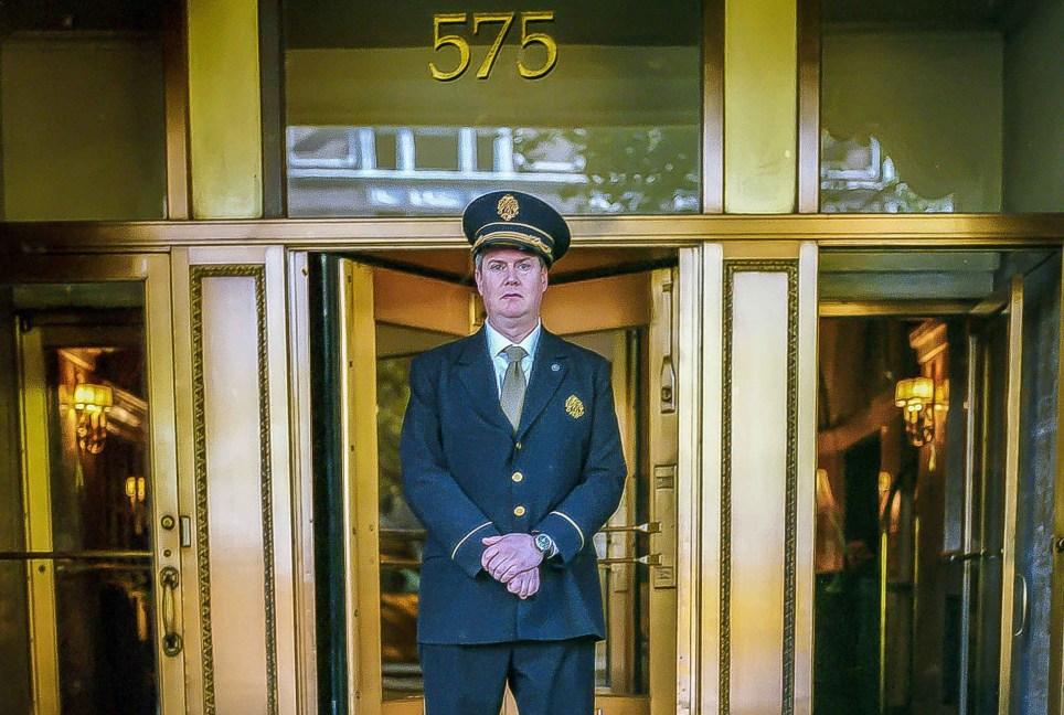 New York Doormen Pictures by Sam Golanski Credit: Sam Golanski Link back to: www.samgolanski.com