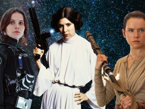 The force is strong! Here's our definitive ranking of the three main Star Wars heroines