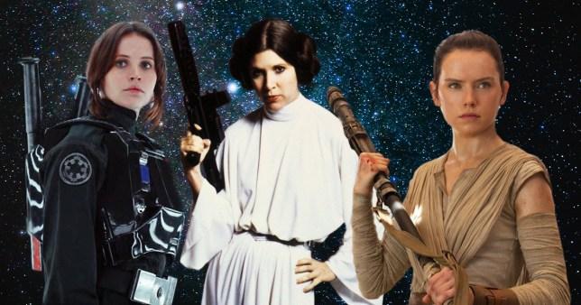 Star Wars female hero comparison