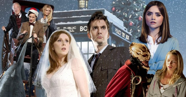 Doctor Who Christmas Special 2016.Doctor Who 7 Great Moments From The Show S Christmas