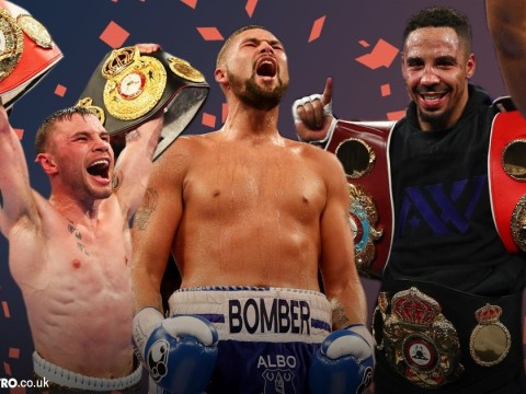Boxing 2016 Awards: Tony Bellew, Carl Frampton and Tyson Fury among winners as we name our fighter of the year