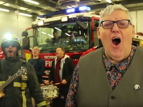 Firefighters release super-catchy song to stop you burning your house down while drunk