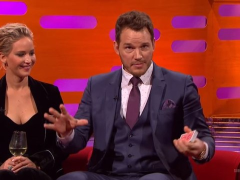 Chris Pratt proves he's a 'real' magician by bossing card trick on The Graham Norton Show
