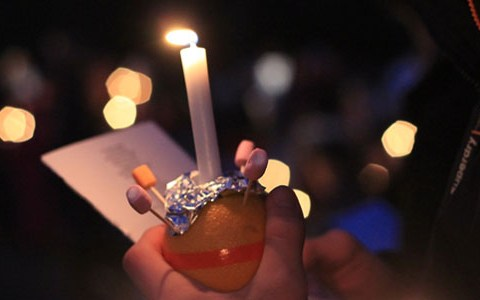 Why is Christingle celebrated at Christmas?